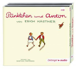 Erich Kästner: Pünktchen und Anton. Oetinger audio