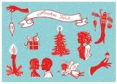 Weihnachtskarte, Annabelle von Sperber