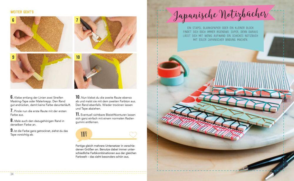 DIY, Do it yourself, Bastelbuch, Geschenke basteln