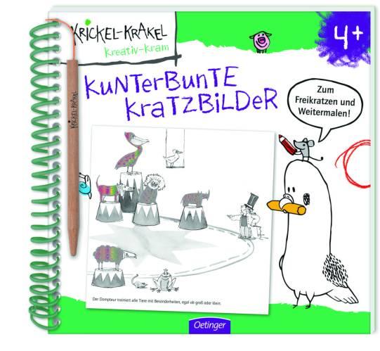 Kritzelbuch, Activitybuch, Machbuch