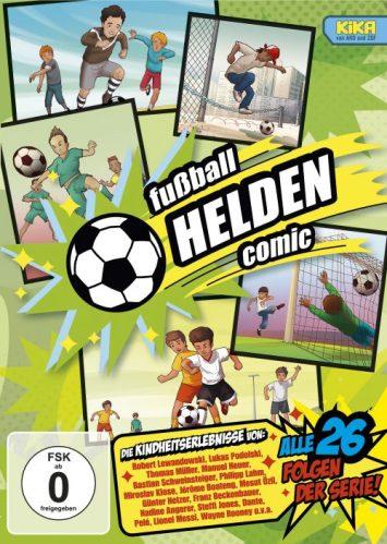 KIKA, Serie, Comic, Zeichentrick, Fußball, fernsehen, Kinder