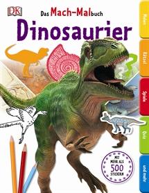 Das Mach-Malbuch Dinosaurier, Dorling Kindersley
