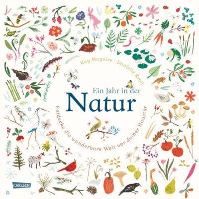 Kay Maguire, Danielle Kroll, Carlsen, Sachbuch, Bilderbuch, Natur, Frühling, Jahreszeiten, Frühlingsanfang