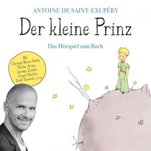 Antoine de Saint-Exupéry: Der kleine Prinz (Übersetzung: Hans Magnus Enzensberger). Hörspiel ab acht Jahren, floff publishing 2017, 6,99 €.