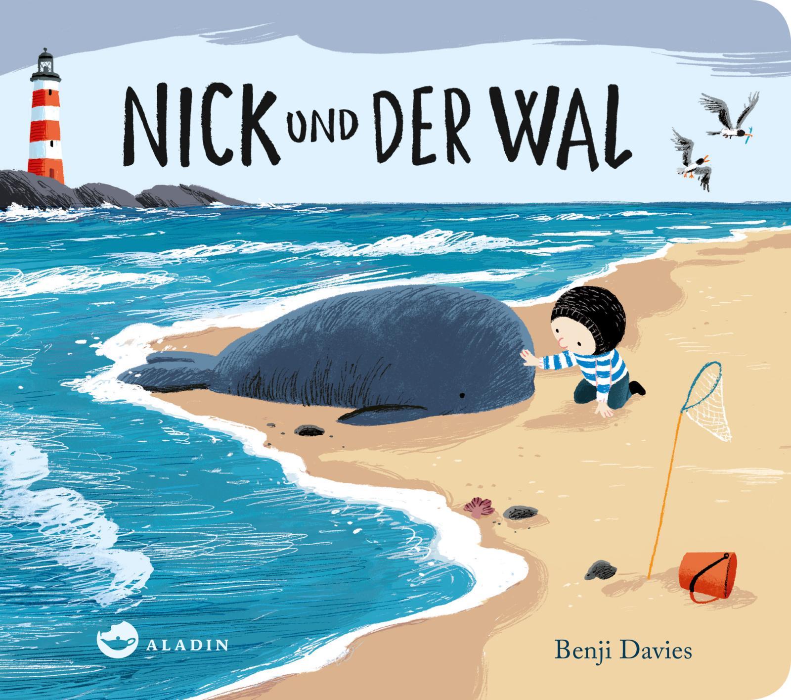 Benji Davies, Nick und das Meer, Bilderbuch, ab 3