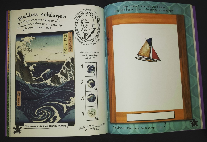 Kunst-Activity-Buch
