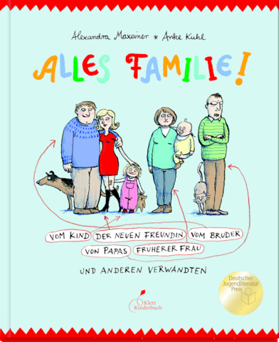 Alexandra Maxeiner, Anke Kuhl, Kinderbuch, Familienkonstellationen, geschieden, verheiratet, Patchwork