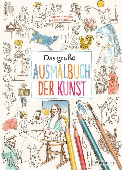 Prestel, Annabelle von Sperber, Kinder, malen, ausmalen