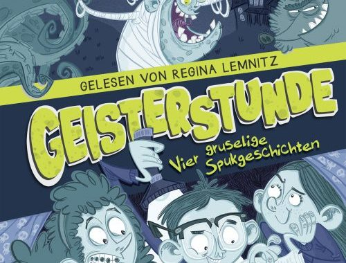 Karussell, Regina Lemnitz, Thienemann, Halloween, Spuk, Gruseln, ab acht, ab 8 Jahren, Hexen, Geister, Gespenster, CD