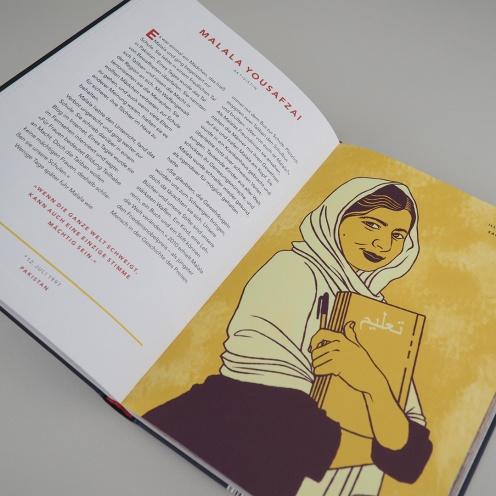 Malala Yousafzai, Feminismus, Feminist, Sachbuch, Mädchen, starke Frauen