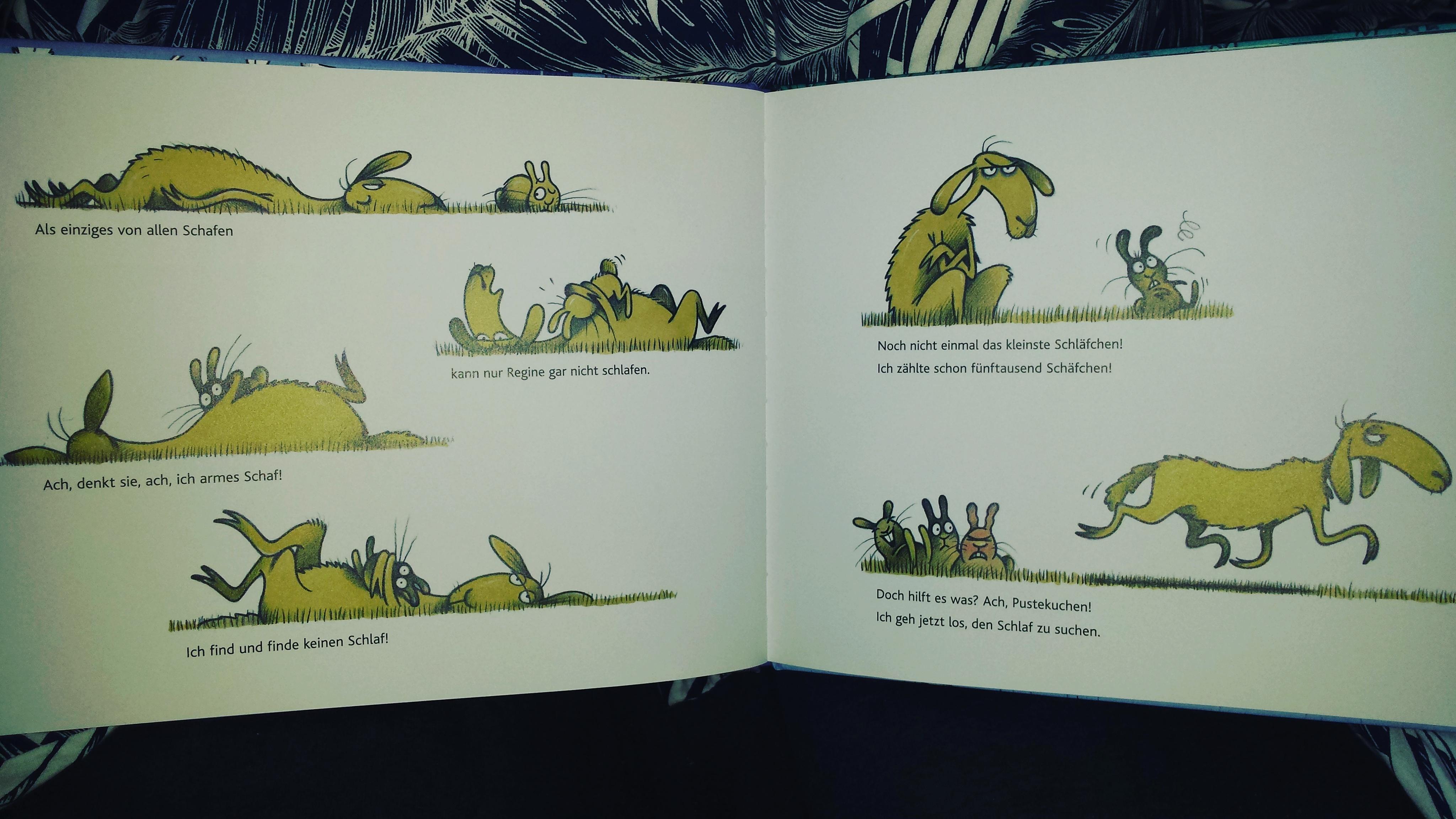Andrea Schomburg, Karsten Teich, Bilderbuch, einschlafen, vorlesen, Kinder