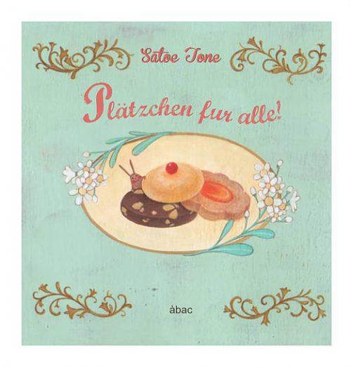 Satoe Tone, abac, Weihnachten, kekse, backen, bilderbuch