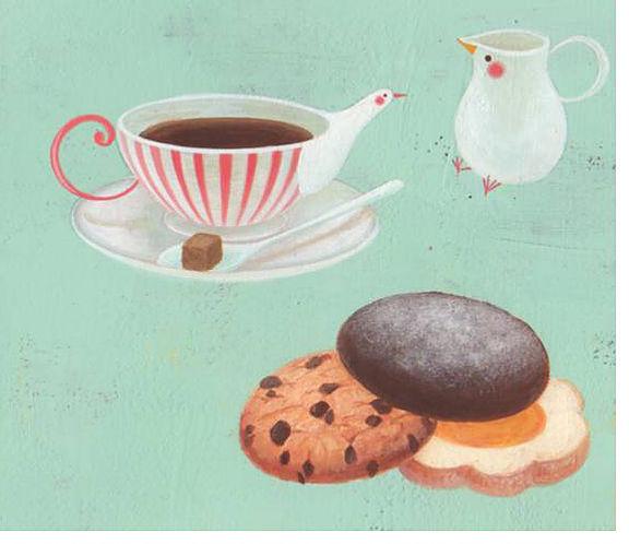 Satoe Tone, Kekse, Weihnachten, Bilderbuch, Plätzchenrezept