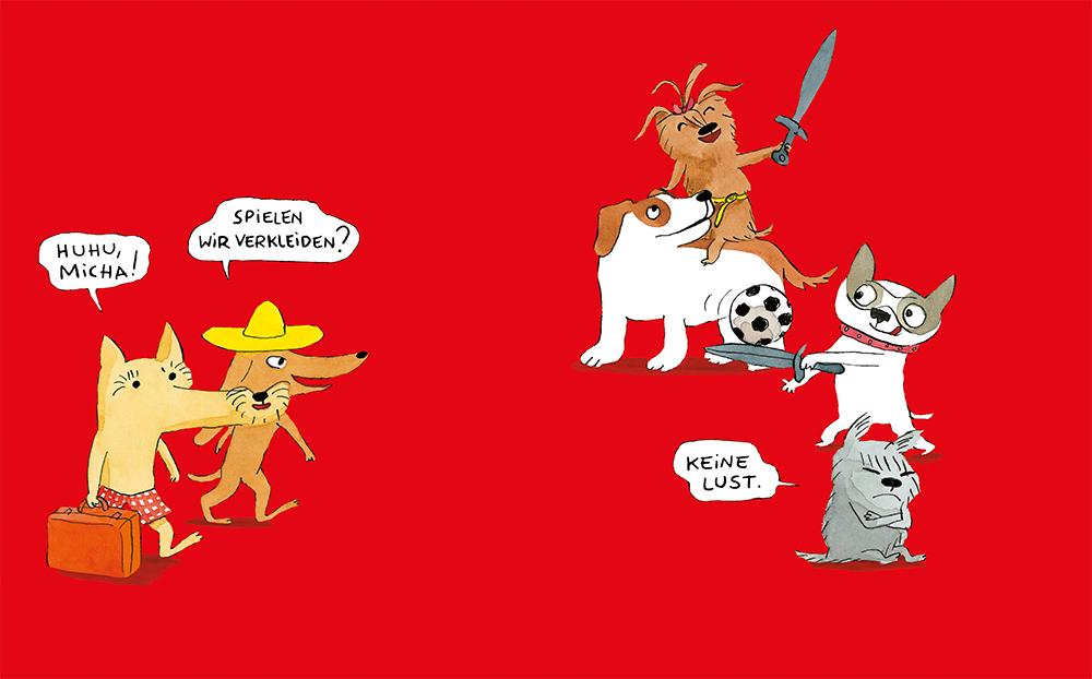 Dorothée de Monfreid, Comic, Hunde, Pappbilderbuch, Erstleser