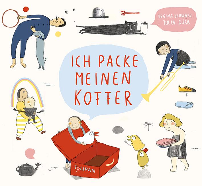 Julia Dürr, Regina Schwarz, Ferien, Reise, Bilderbuch, Reime