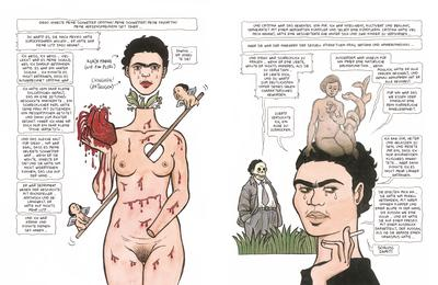 Frida Kahlo, Graphic Novel, Comic, Biografie