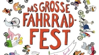 Alison Farrell, Gerstenberg Verlag, Diesel-Verbot, Diesel-Skandal, Bilderbuch, Fahrradfamilie, vorlesen, lesen, Wimmelbuch