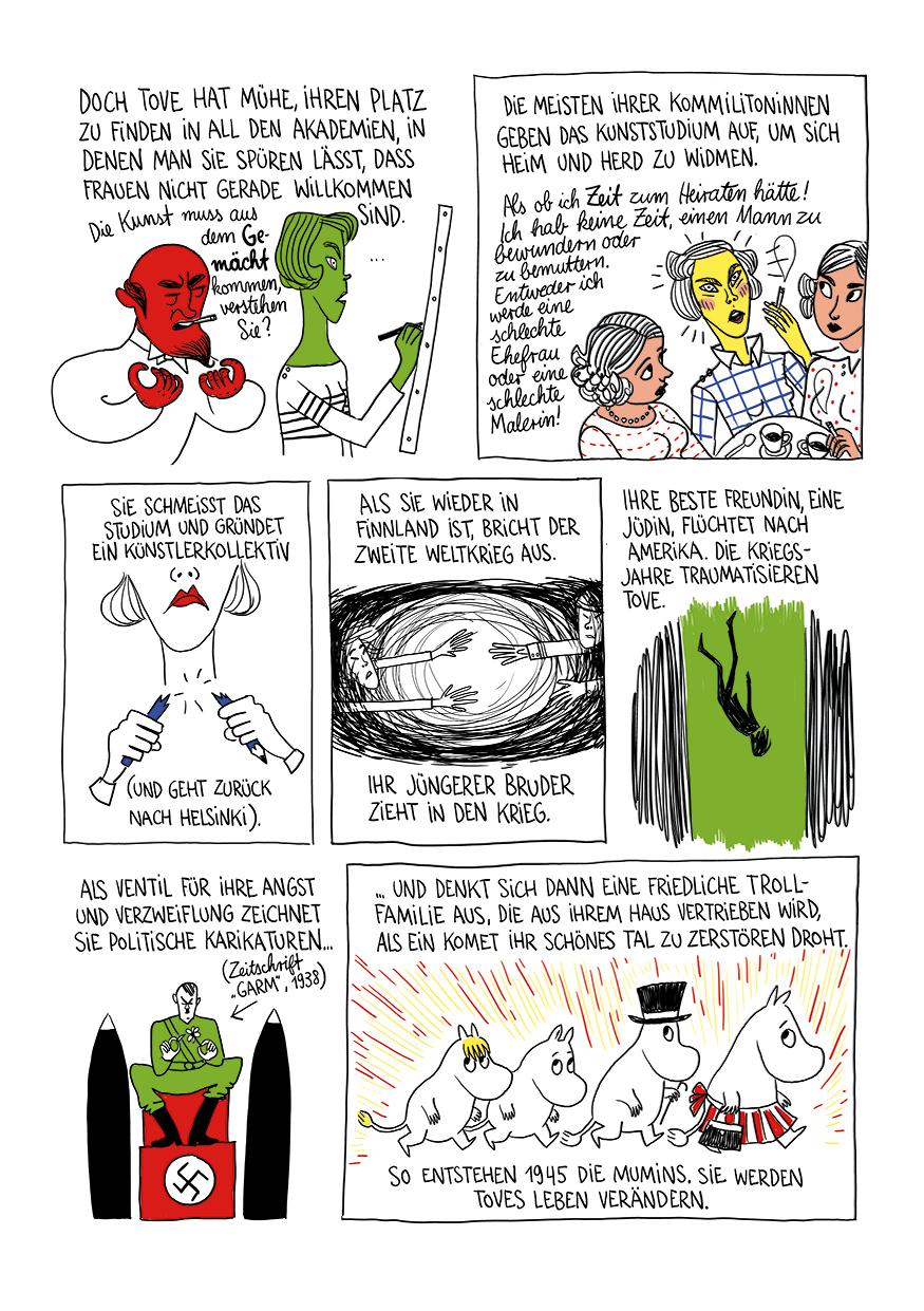 Pénélope Bagieu, Tove Jansson, Mumins, Comic
