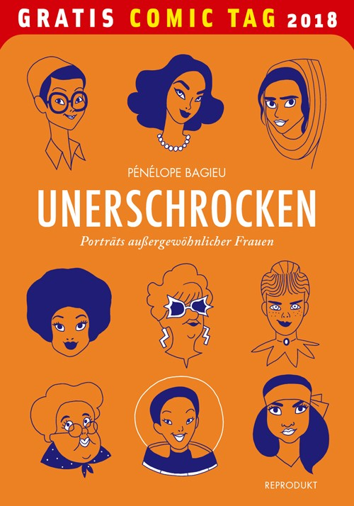 penelope bagieu, feminismus, feministin, graphic novel, comics, frauen