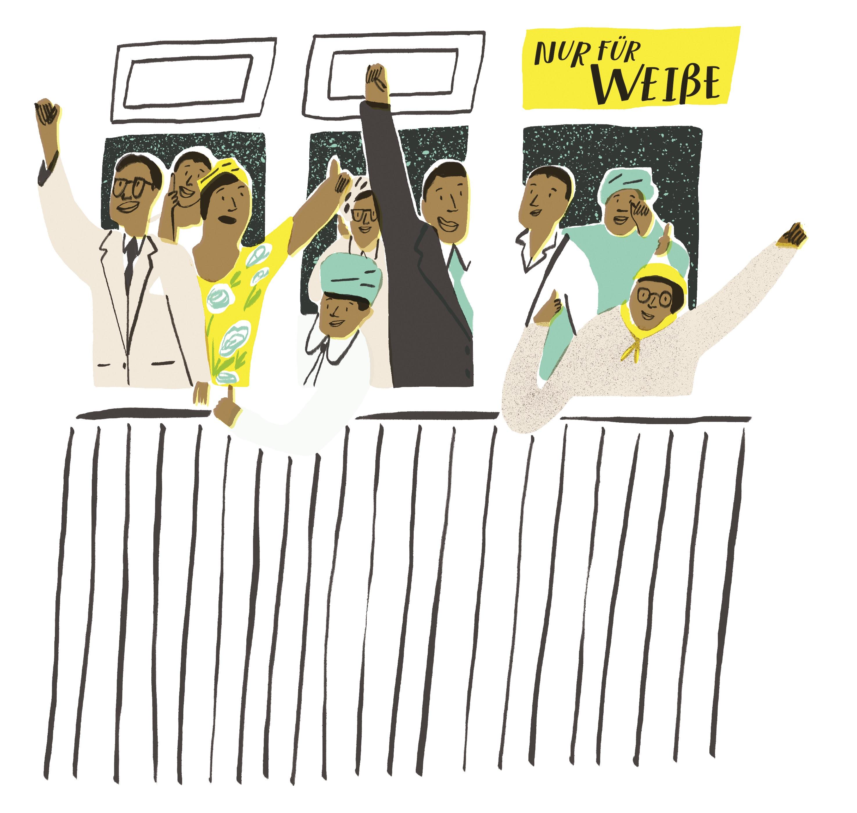 Biografie, Rassentrennung, Rassismus, Apartheit, Süsafrika, Kinderbuch