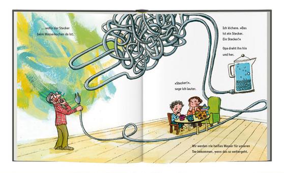 Demenz, Alzheimer, erklären, Bilderbuch, Enkelkinder, Enkel