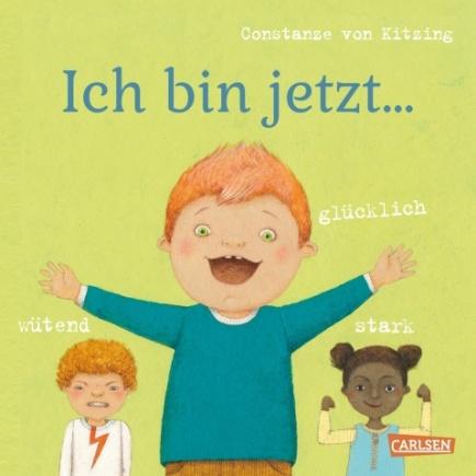 Constanze von Kitzing, Pappbilderbuch, Gefühle benennen, sprechen, mit Kindern, Pädagogen