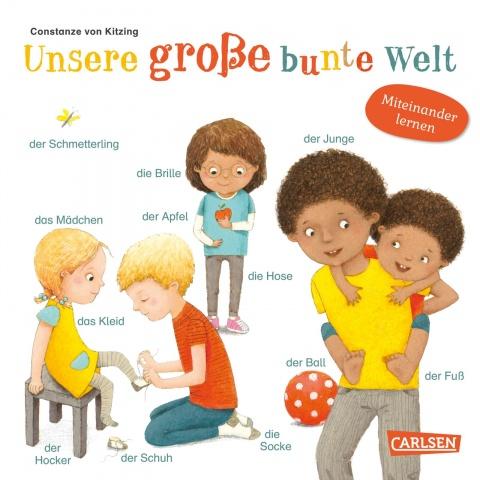 Pappbilderbuch, erste 100 Wörter, sprechen lernen, Bilderbuch, Wörterbuch, Babys