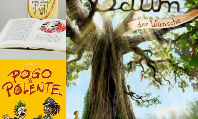 Bluma und das Gummischlangengeheimnis, Baum der Wünsche, Pogo&Polente, lesen, vorlesen