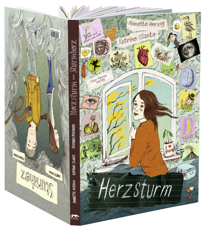 Annette Herzog, Katrine Clante, Comic, Graphic Novel, Liebe, ab 12, Pubertät