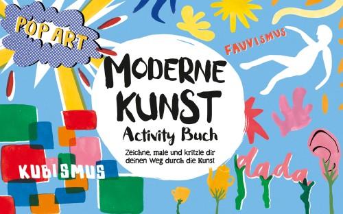 Mitmach-Buch, Machbuch, Kunst, Grundschule, popart, Kubismus, Dadaismus
