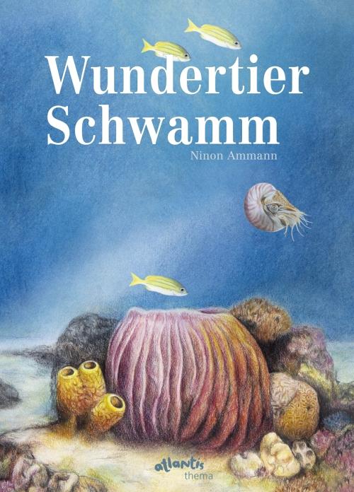 Ninon Ammann, Sachbuch, Sachbilderbuch, Schwämme, Meer, Wissensbuch, lernen, Grundschule