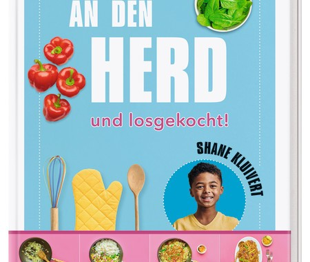 Dorling Kindersley, Shane Kluivert, Kinderkochbuch, Rezepte, Familie, einfach, schritt für schritt