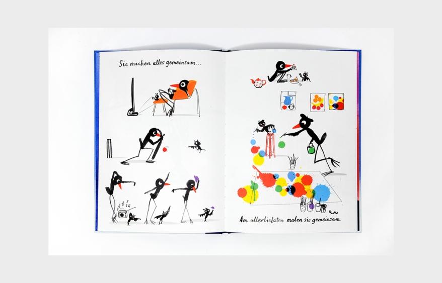 Marion Deuchars, Bilderbuch, malen, vorlesen, Vorlesetag, Kinder, Bücher, Kinderbücher, Depression, vermissen, Abschied