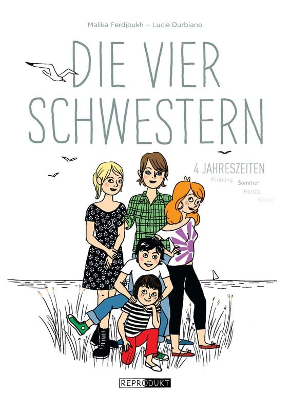 Graphic Novel, Comic, Frankreich, Mädchen, Mädchenroman, französisch, Geschwister