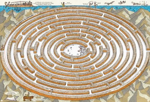 Antike, antikes Griechenland, Mythologie, Bilderbuch, Wimmelbuch, Sachbuch