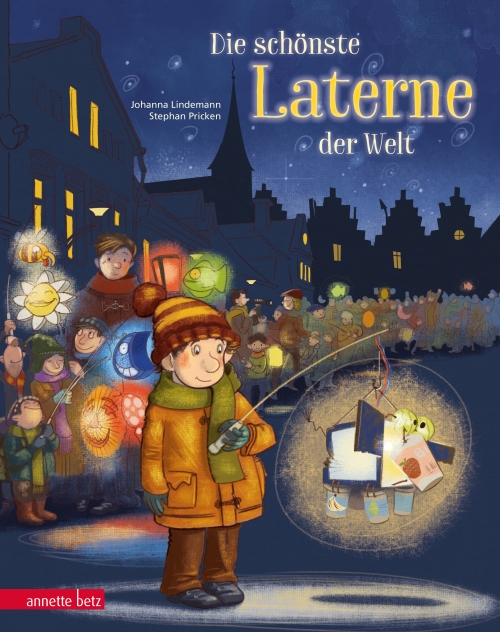 Johanna Lindemann, Stephan Pricken, Bilderbuch, St. Martin, vorlesen, Vorlesetag, Kinderbuch, Lieder, Laterne, Laternelaufen