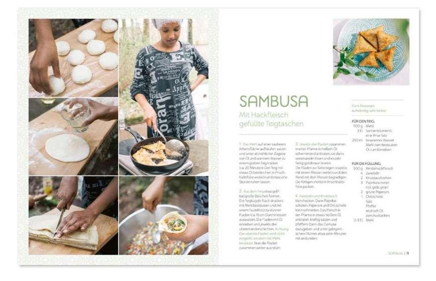 Kochbuch, kochen, Rezepte, asiatische Küche, afrikanisch, arabisch, orientalisch, Rezept, Geflüchtete