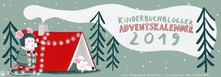 Kinderbuchblogger-adventskalender 2019 Banner
