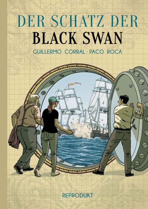Guillermo Corral, Paco Roca, Comic, Graphic Novel, spannend, Spanien, Schatzsuche, 500.000 Gold- und Silbermünzen