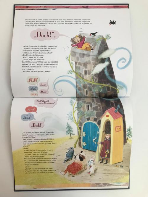 Bilderbuch, Trotzphase, Marc-Uwe Kling, Astrid Henn, nein sagen