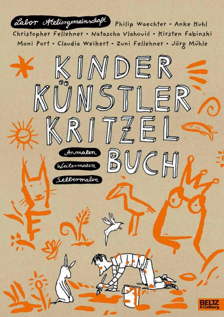 Labor Ateliergemeinschaft, Philip Waechter, Illustration, Kinderbücher, Mitmachbuch