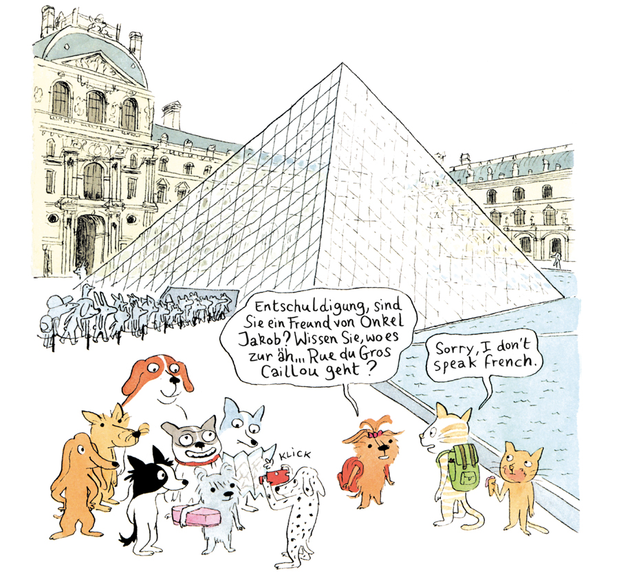 Comic, Reprodukt, Kinder, Kindercomic, Frankreich, Paris, Hunde