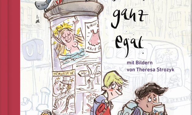 Franz Orghandl, Theresa Strozyk, Kinderroman, Wien, Transgender, Transsexiualität