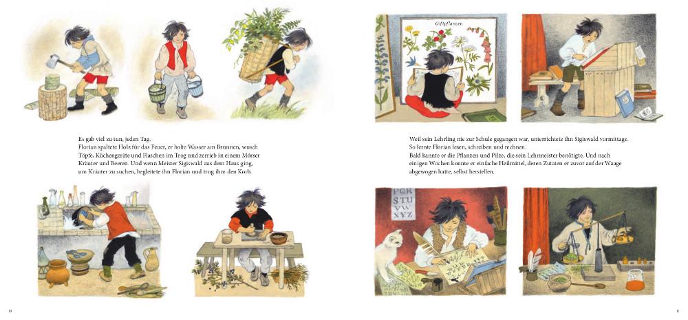 Bilderbuch, Klassiker, Goethe, Grundschule, lesen, vorlesen, Bildung