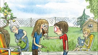 Anke Kuhl, Comic, Kindercomic, 70er, Erinnerungen, Kindheit, lesen, vorlesen, lustig