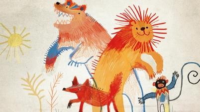 Amadeus Henhapl, Elsa Klever, Bilderbuch, Kreativität, lesen, malen, Langeweile, langweilig, Herbst, vorlesen, Kinder, Kinderbücher, Familie, Eltern, zeichnen, Tiere