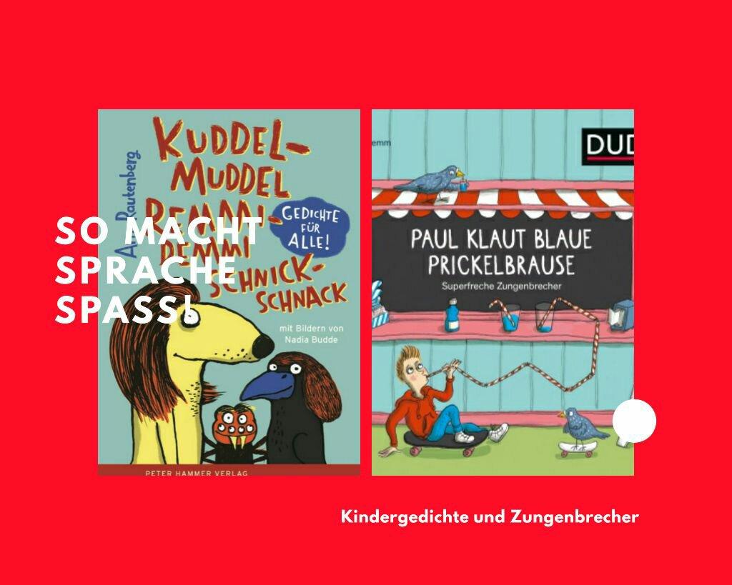 Kuddelmuddel Remmidemmi Schnickschnack, Kinderlyrik, Zungenbrecher, Duden, Grundschule