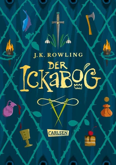 J.K. Rowling, Kinderbuch, ab 8, Carlsen, vorlesen, Vorlesegeschichte, Familie, Kinder, Eltern, Märchen
