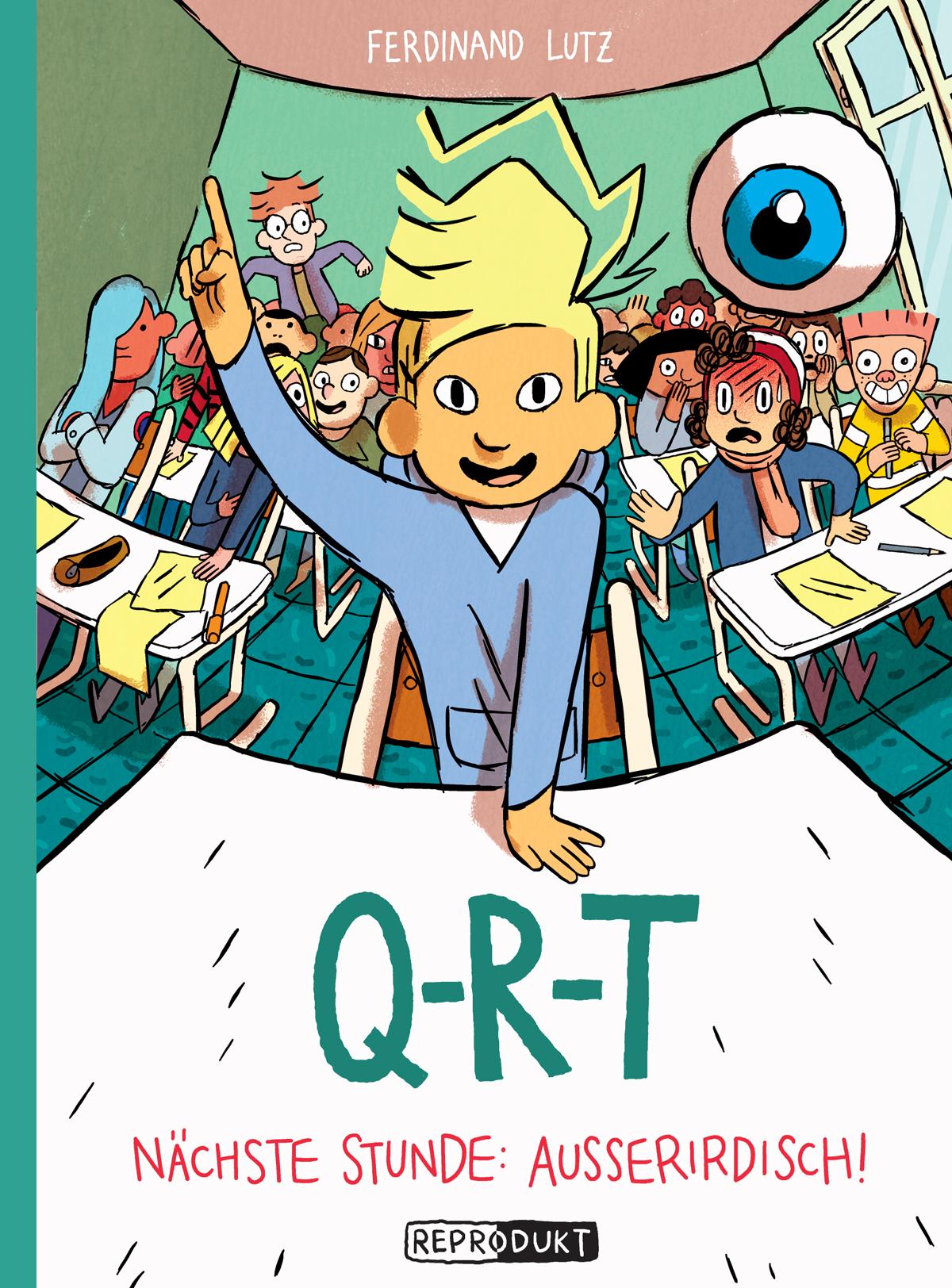 Ferdinand Lutz, Reprodukt, Kindercomic, Comic, selber lesen, Grundschule, Comictipp,