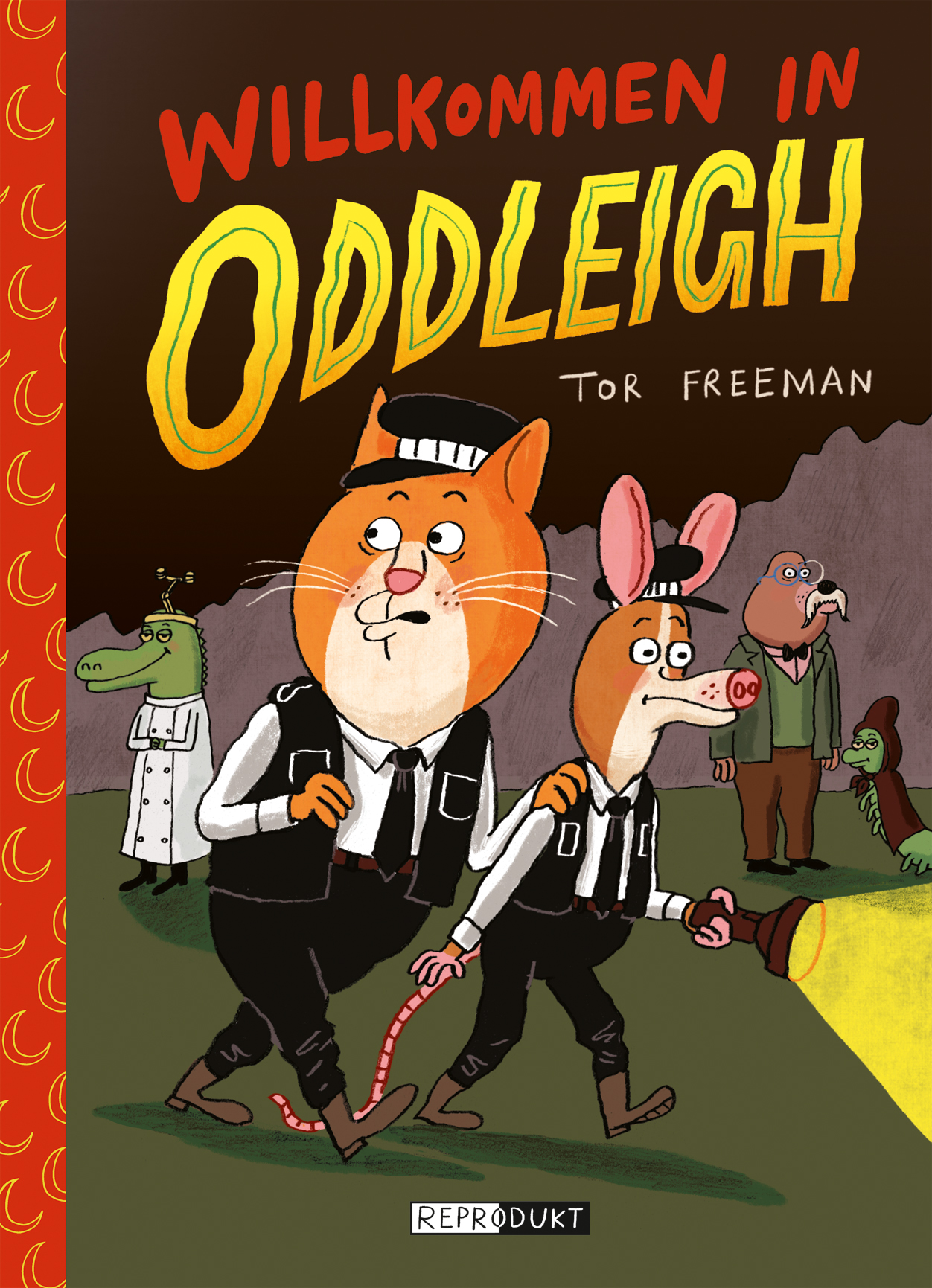 Comic, Kindercomic, Tiere, Krimi, selber lesen, Grundschule, ab 9, Tor Freemann, Reprodukt, Comic-Tipp für Kinder